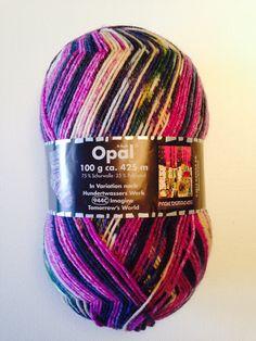Opal Hundertwassers 944C #wool #knitting #ovillo #lana #yarn #tejer #thewoolco #thewoolcollection