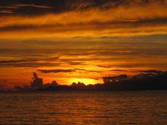 sunset in Samoa 2