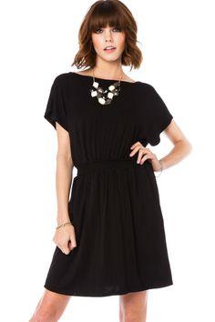 ShopSosie Style : Gillian Dress in Black