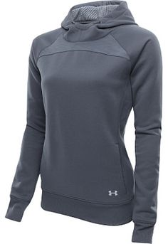 UNDER ARMOUR Women's ColdGear Infrared Storm Hoodie - SportsAuthority.com size small