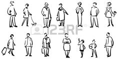 People sketch  Stock Vector - 11272426