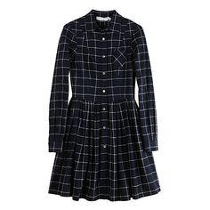 La Garçonne - Opening Ceremony Full Shirt Dress ($334) ❤ liked on Polyvore