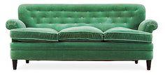 A Josef Frank sofa, Svenskt Tenn. Length 190 cm.. - Modern Autumn Sale, Stockholm 575 – Bukowskis