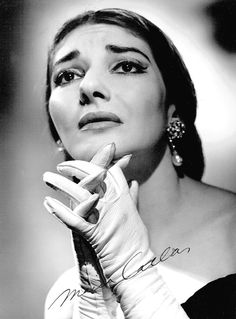 Opera diva Maria Callas as Violetta in La Traviata, 1958