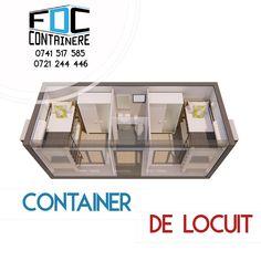 Container dormitor dublu cu toaletă.  #fabricatinromania🇹🇩 #container #containerhouse #modular #modularcontainer #containerarchitecture #tinyhouse #smartliving #smartcity #smartbuilding #containerlife #containerliving #sustainableliving #sustainability #containerbuilding #ecology #smartway #3dmodeling #3dmodel #fabricadecontainere #containerefdc Container Buildings, Container Architecture, Smart City, Sustainable Living, Ecology, Sustainability, Tiny House, Storage, Life