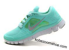 reputable site 09d99 94537 Tiffany Blue Nike Free Run 3 5.0 Pure Platinum Reflect Silver Aqua Chrome  Nike Shoes Cheap