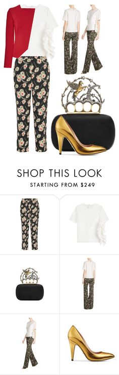 """Pegasus"" by cherieaustin on Polyvore featuring Prada, MSGM, Gucci and Roland Mouret"