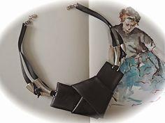 FRANCINE BRICOLE : Gros noeud en latex (chambre à air récupérée) et m...