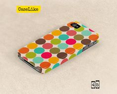 #3D #iPhone 5 #Case  Cute colorful Polka Dot Pattern Full by #caselike, $22.00