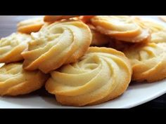 MELTING MOMENTS Cookies Recipe ♥ Eggless Cookies ♥ Really Melt In Your Mouth ♥ Tasty Cooking - YouTube
