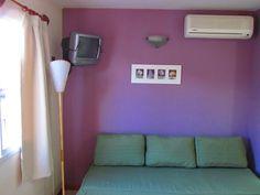 Living-comedor en cabaña de 2 a 4 personas