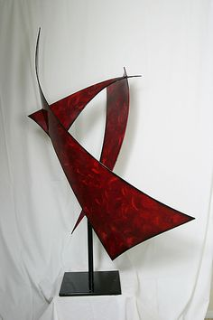 Sailing: Cheryl Williams: Metal Sculpture - Artful Home