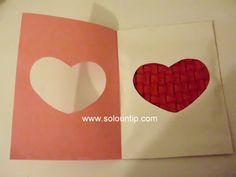 Tarjeta de san valentín Manualidades ~ Solountip.com