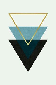 Fond écran triangle/mix
