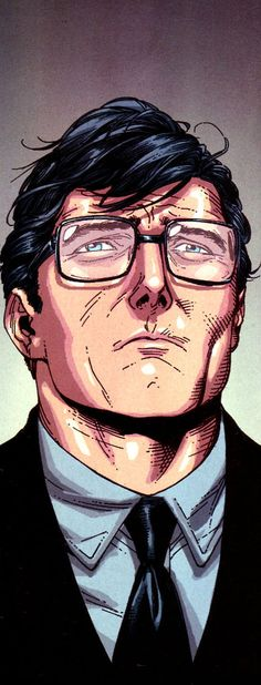 I absolutely LOVE the comic book adaptation of a Christopher Reeve likeness as SUPERMAN.. ICON. Clark Kent by Gary Frank