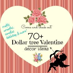 dollar tree Valentines decorating ideas