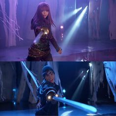 A swordsman needs to hold a sword confidently, which means steadily also otherwise it shows weakness and doubt in what they are doing, making them less liable to win the duel Descendants Mal And Ben, Descendants Characters, Disney Channel Descendants, Descendants Cast, Disney Xd, Disney And Dreamworks, Disney Movies, Disney Pixar, Cameron Boyce