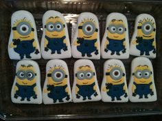 YES!!!! Minions cookies