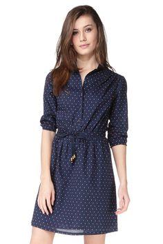 Pencil dress - sophie - Blue / Navy Jolie Jolie Par Petite Mendigote on MonShowroom.com