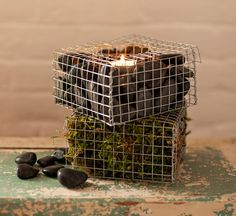 Create a Mini Gabion
