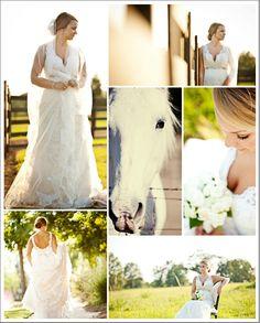 farm inspiration | southern bridal session