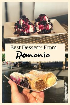 Foodie travel 264586546845642276 - Top Romanian desserts that will make you hungry. Check out what are the best desserts to try in the country. The full list of best food in Romania! Source by lunaticatlarge Romanian Desserts, Romanian Recipes, Romania Travel, International Recipes, Foodie Travel, Fun Desserts, Street Food, Budget Travel, Travel Tips