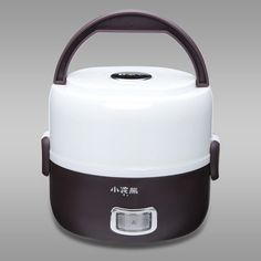 HM-2016 Electric Heating Lunch Box 1.2L Mini Rice Cooker for 1-2 person Schools  #Raccoon