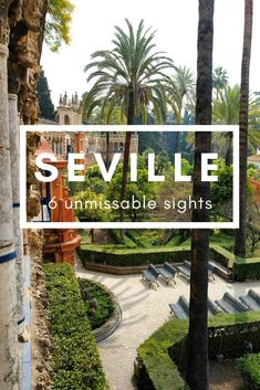 With amazing sights like the Real Alcazar, Seville makes the perfect weekend break. Find out which six sights you absolutely must add to your list of things to do in Seville. #seville #spain #andalucia #realalcazar #alcazar