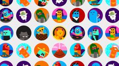 Characterful avatars for Virgin America on Vimeo