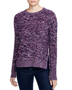 Aqua cashmere Becca Marled crewneck sweater http://www1.bloomingdales.com/shop/product/aqua-cashmere-becca-marled-crewneck-sweater?ID=1536863&CategoryID=2910#fn=spp%3D3