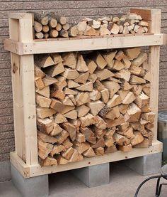 Corder du bois de chauffage