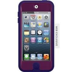 The Defender Series iPod touch case has three layers of protection that keep it safe and secure. Get protection that inspires confidence with the Defender Series iPod touch case.