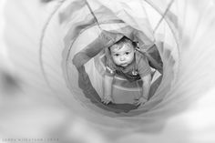 365 Project   |   Week 17, lifestyle photography, shooting everyday, child toddler and baby lifestyle photography, 19 month old, black and white photography, climbing through tunnel