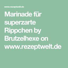 Marinade für superzarte Rippchen by Brutzelhexe on www.rezeptwelt.de
