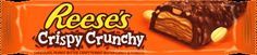Get the delicious combination of creamy Reese's peanut butter and crunchy peanuts.