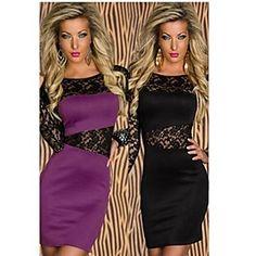 PROMOTION Women's Long Sleeve Nightclub Slim Fit Fashionable Dress