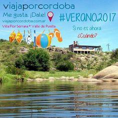 """""""Si no es ahora ¿Cuándo?"""". Este #Verano2017 disfrutá todo lo que Córdoba tiene para ofrecerte. ¡Tengo tantas ganas de ir! Me gusta ¡Dale! PH: Arroyo Cristal en Villa Flor Serrana, valle de Punilla. 11.12.16.  #arroyo #rio #river #stream #water #fresh #sierras #mountains #hills #paisaje #landscape #sightseeing #nature #beautiful #quiet #silence #relax #moments #enjoy #naturepic #verano2017 #summer #summertime #Cordoba #Argentina #viajes #turismo #travel @viajaporcordoba."""