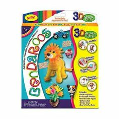 Bendaroos 3D Activity Kit- 500 Pcs by Merchant Media LLC. $15.99. 3 Bendamodels figures. 2 shaping tools. 500 Building STICKS. Crimper cutter. 16 traceable templates. Create Awesome 3D Models and Characters  ?500 Bendaroos® Building Sticks In Rainbow & Neon Colors ?Simple To Use Fun Guide With Step By Step Instructions How To Make Cool 3D Models and Characters! Includes 16 Traceable Templates, 3 Bendamodels, 1 crimper cutter, 1 pyramid shaping tool, 1 dome shaping tool.