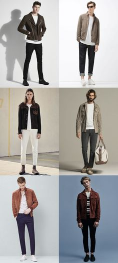 4be93f1ba19 Men s Suede Outerwear Outfit Inspiration Lookbook Preppy Fashion