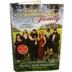 Duck Dynasty Book - The Duck Commander Family, I need to read this one next!