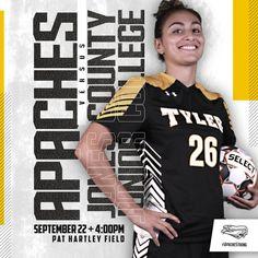 Tyler Junior College Women's Soccer – cates.design Junior College, Soccer, Design, Futbol, European Football, European Soccer, Football, Soccer Ball