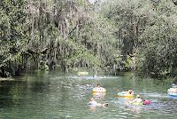 Tubing in Blue Springs State Park