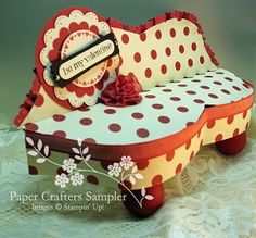 """""""Pucker Up"""". The newest template from the Jan. 2013 Paper Crafters Sampler, """"Tokens of Love"""""""