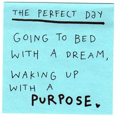 Wake with a Purpose
