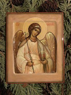 Gabriel, Jesus Art, Byzantine Icons, Orthodox Christianity, Art Icon, Orthodox Icons, Style Icons, Catholic, Spirituality