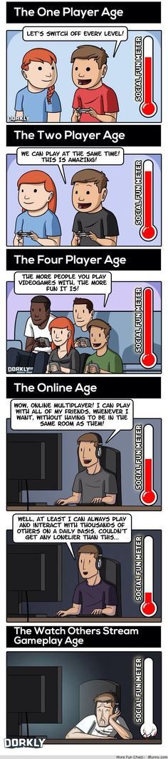 multiplayer games through ages dorkly comic