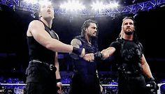 Dean rocking to The Shield theme music. Wwe Gifs, Seth Freakin Rollins, Best Wrestlers, The Shield Wwe, Dean Ambrose, Roman Reigns, Wwe Superstars, Man Alive, Bad Boys