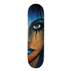 Roll down the sidewalk with the wind in your hair thanks to Zazzle's Blue skateboards. Choose your size, your deck, & get rolling with our skateboard! Custom Skateboard Decks, Custom Skateboards, Outdoor Gear, Disney Characters, Fictional Characters, Goth, Disney Princess, Blue, Gothic