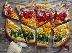 Recipe: Rainbow Pizza — Recipes from The Kitchn