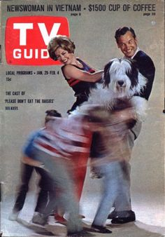 Please Don't Eat the Daisies - TV GUIDE COVER, featuring Lord Nelson as Ladadog